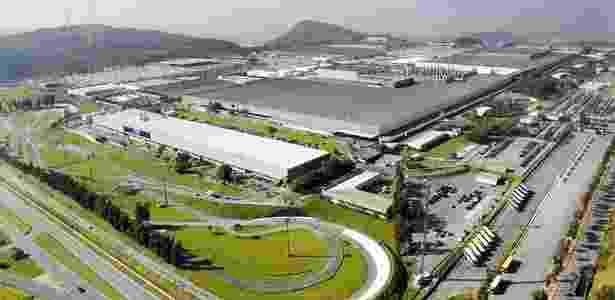 Fábrica da Fiat em Betim (MG) é a segunda maior do mundo e a primeira do Brasil - Divulgação