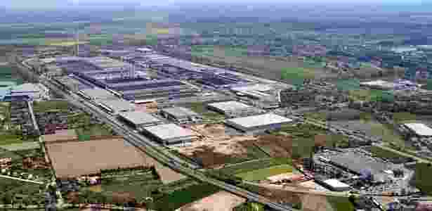 Fábrica da Fiat na Polônia produz o 500, que também é feito no México - Divulgação - Divulgação