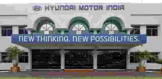 Hyundai Motor India fica sediada na vila de Irungattukottai, região de Tamil Nadu - Divulgação - Divulgação