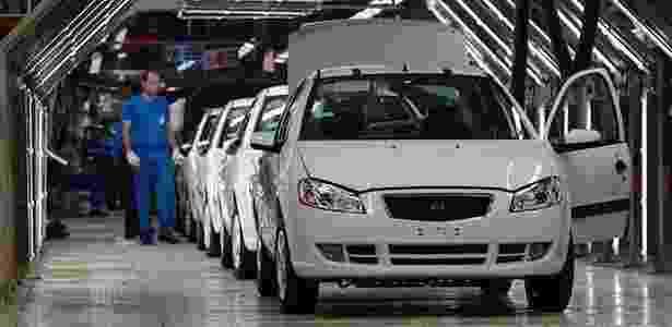 Iran Khodro, ou IKCO, é uma marca iraniana de carros com a 4ª maior fábrica do mundo - Getty Images - Getty Images