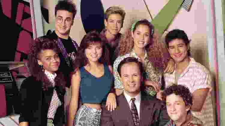 """Elenco de """"Uma Galera do Barulho"""" (""""Saved by the Bell"""") - Reprodução/NBC - Reprodução/NBC"""