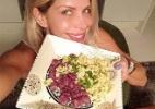 Famosas adotam buffets fitness e doces de whey para manter dieta em festas - Reprodução/ Instagram/ @karinabacchi / Divulgação