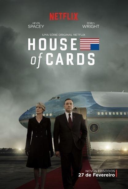 """Pôster da terceira temporada de """"House of Cards"""""""
