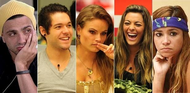 """Ex- BBBs Júnior, Nasser, Natália, Monique e Mirla acreditam que participantes do """"BBB15"""" não têm espontaneidade"""