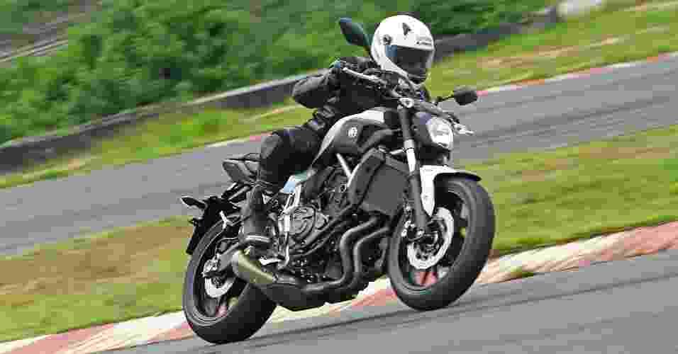 Yamaha MT-07 - Divulgação