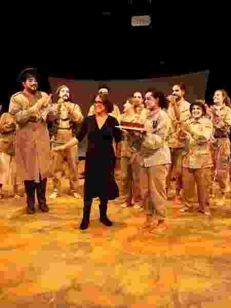 """Regina Duarte reestreia a peça """"A Volta para Casa"""" (2015), da qual foi diretora diretora - Marcos Ribas/Photo Rio News"""