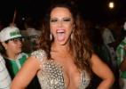 Viviane Araújo usa vestido transparente e com megadecote no ensaio da Mancha - Caio Duran/CDC Shows e Eventos