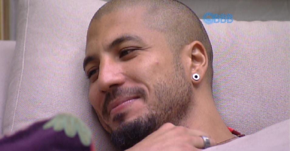 7.fev.2015 - Fernando diz para Aline que deseja ir para o próximo paredão