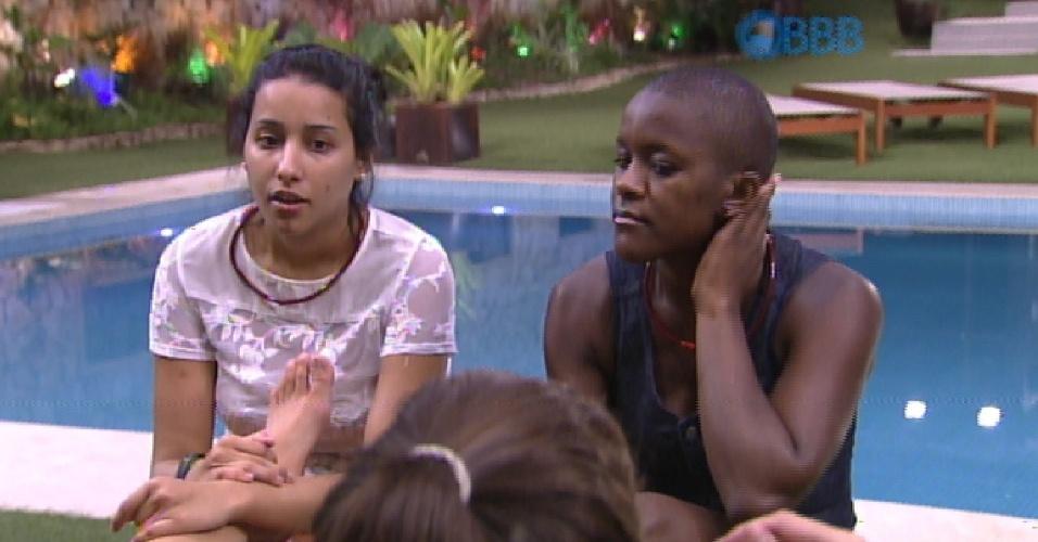 9.fev.2015 - Talita critica Mariza