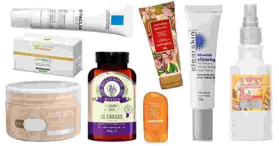 Produtos para acne nas costas - abre - Divulgação