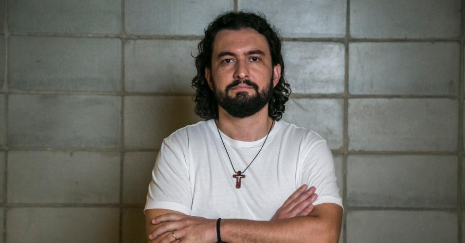"""11.fev.2015 - Marco é o terceiro eliminado do """"BBB15"""""""