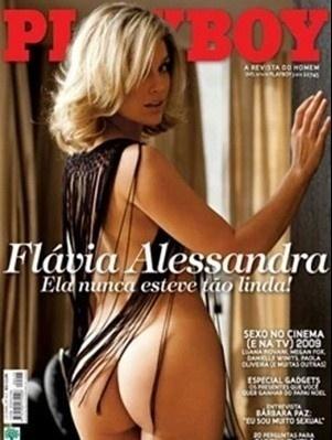 Flávia Alessandra é capa da Playboy de dezembro de 2009