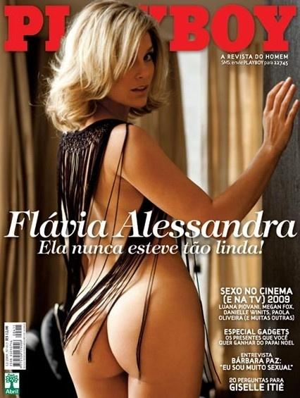 Flávia Alessandra na Playboy