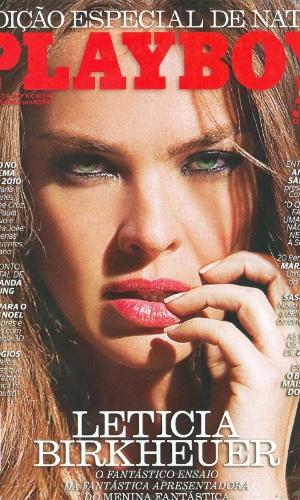 Letícia Birkheuer na Playboy
