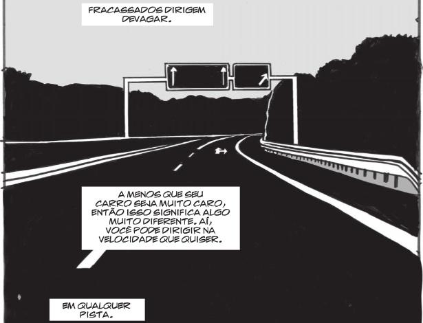 """Página da HQ """"Autocracia"""", de Woodrow Phoenix"""