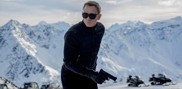 """Daniel Craig em imagem do filme """"Spectre"""" feita nos Alpes austríacos - Divulgação"""