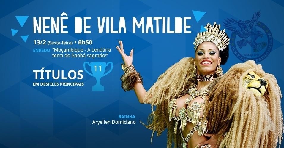 carnaval 2015 - nenê de vila matilde