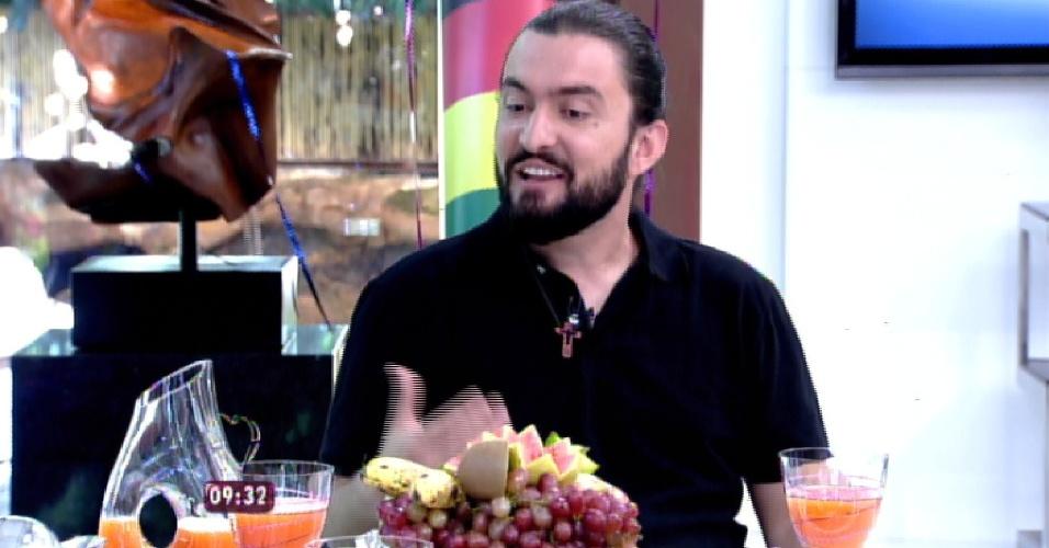 """Terceiro eliminado do """"BBB15"""", Marco conversa com Ana Maria Braga no """"Mais Você"""""""