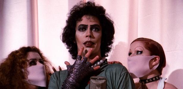 """Cena do filme  """"The Rocky Horror Picture Show"""" (1975) - Divulgação"""