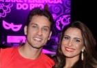 Ao lado da namorada, Eliéser diz que não se incomoda em ver a ex desfilar - Thiago Duran/AgNews