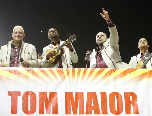 14.fev.2015 - Desfile da Tom Maior, no sambódromo do Anhembi