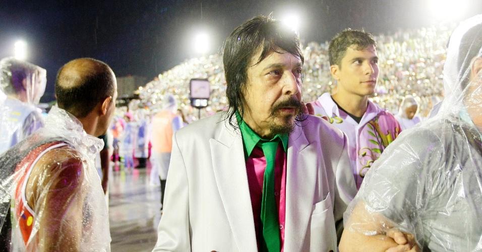 16.fev.2015 - O cantor Benito de Paula, autor da música