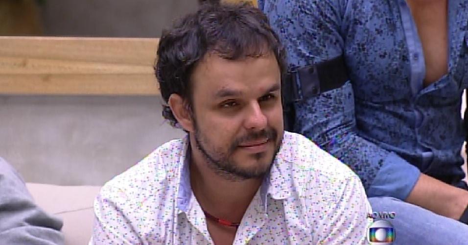 17.fev.2015 - Adrilles conversa com Pedro Bial