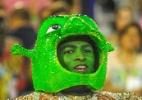 União da Ilha questiona beleza e traz Shrek para a avenida - Dhavid Normando/Futura Press/Folhapress