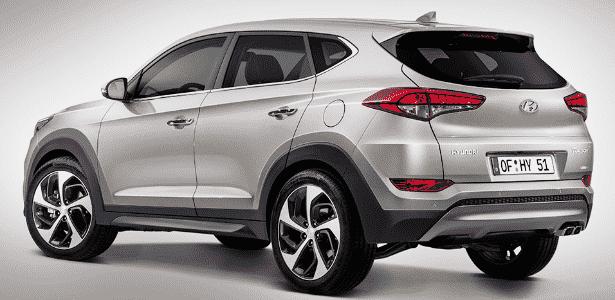 Hyundai Tucson/ix35 2016 - Divulgação - Divulgação
