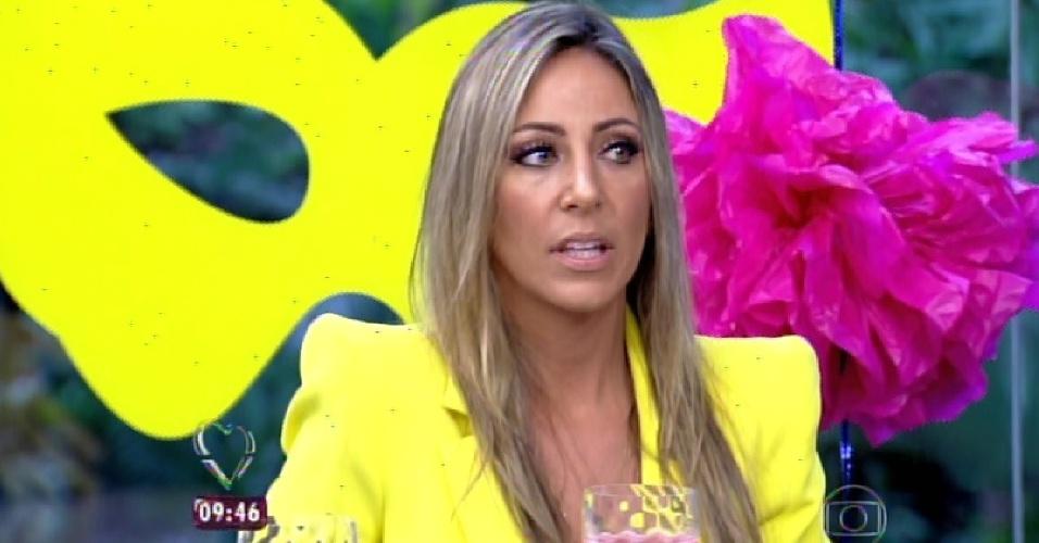 """18.fev.2015 - No """"Mais Você"""", Francieli culpa Marco por sua eliminação no """"BBB15"""""""