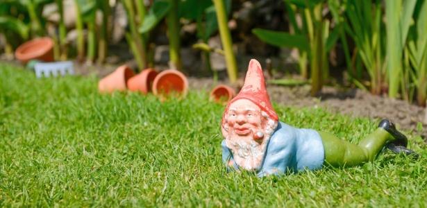 """Anões de jardim são objetos clássicos da decoração kitsch: divertidos e """"descolados"""" - Getty Images"""