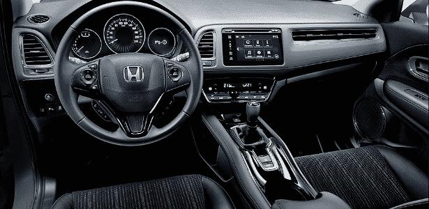 Honda HR-V europeu cabine - Divulgação - Divulgação