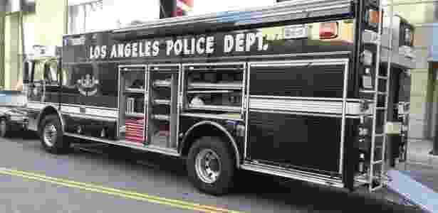 Reprodução/Twitter LAPD HQ