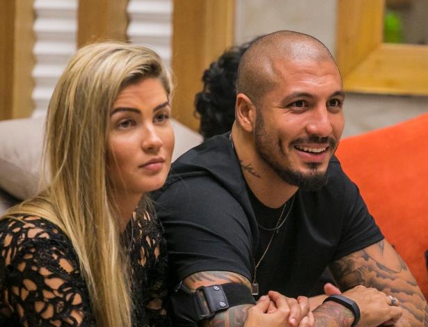 "Aline e Fernando: use o campo de comentários para opinar sobre o casal do ""BBB15"" - Paulo Belote/TV Globo"