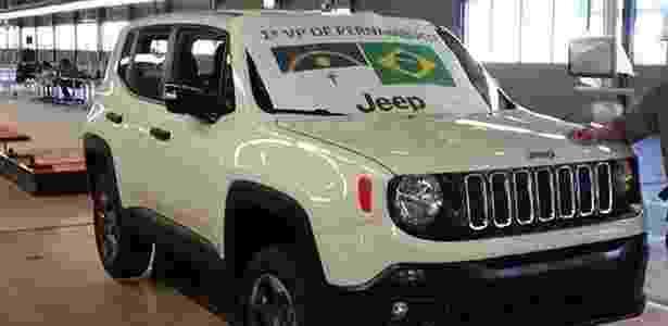 4. FIAT SCCS: Jeep Renegade (foto), Fiat Punto e Opel Corsa (GM) têm a mesma base - Reprodução/Carplace