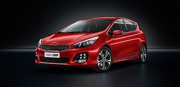 """Kia Cee""""d GT Line será o primeiro modelo a receber o novo motor - Divulgação"""