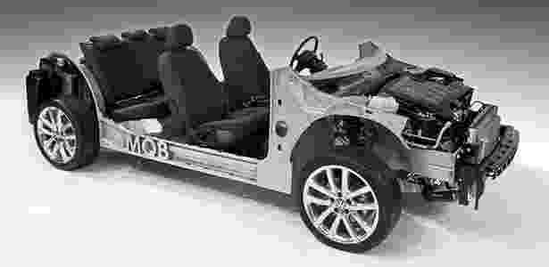1. VOLKSWAGEN MQB: plataforma da marca pode fazer de compacto a SUV grande - Divulgação