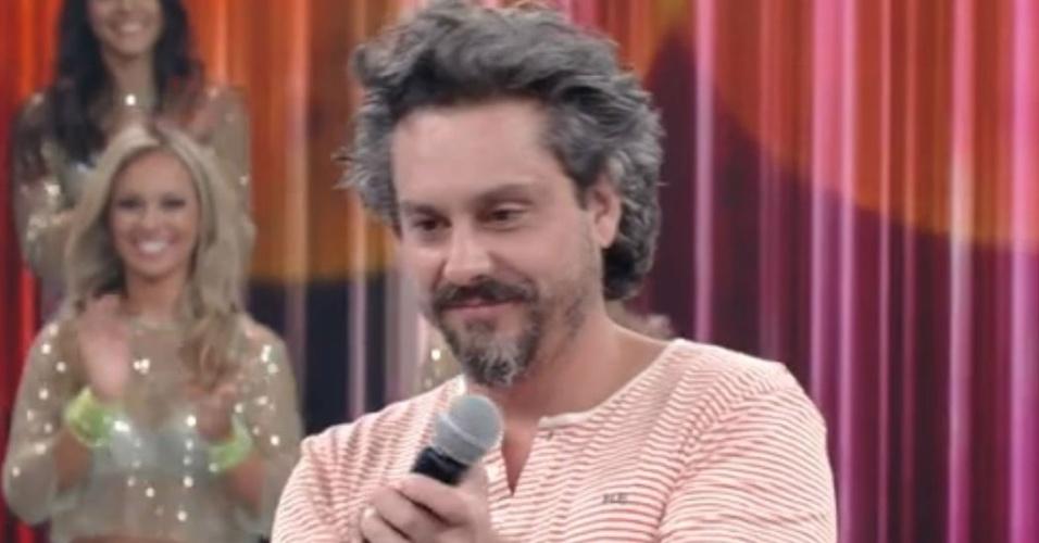 22.fev.2015 - Alexandre Nero participa do
