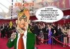 Veja imagens das celebridades que viraram memes no Oscar 2015 - Reprodução