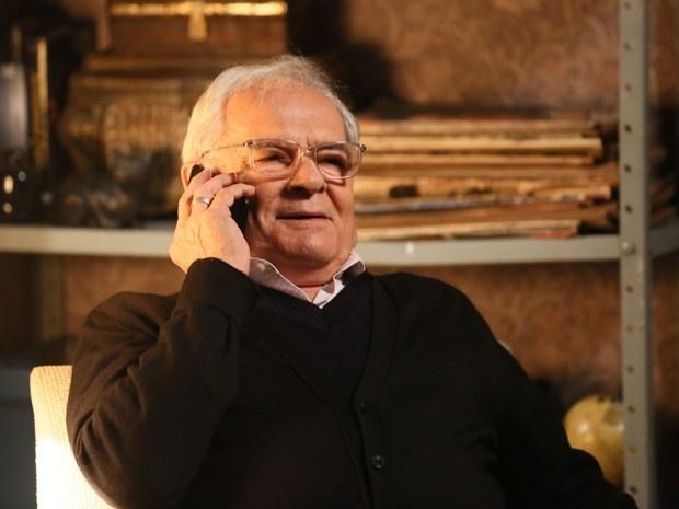Silviano diz à Maria Marta que adoraria ser o pai de José Pedro