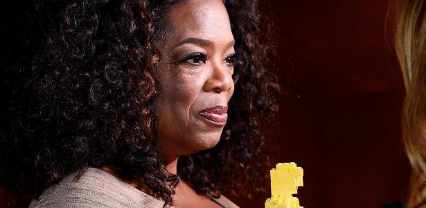 A apresentadora Oprah Winfrey, nova contratada da Apple para produzir programas de TV