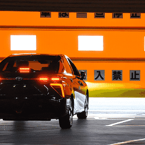 Toyota Mirai FCV na linha de produção - Divulgação