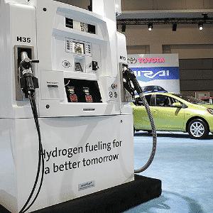 Toyota Mirai FCV na linha de produção - Gary Cameron/Reuters