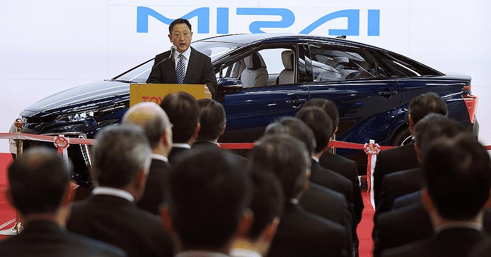 Toyota Mirai FCV na linha de produção - Toshifumi Kitamura/AFP