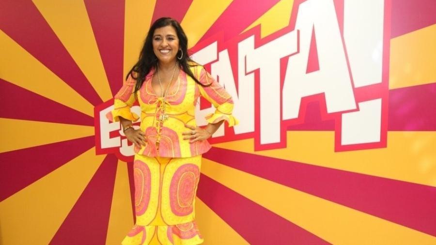 "Regina Casé nos bastidores do ""Esquenta"" - Claudio Andrade e Thyago Andrade/ Photo Rio News"