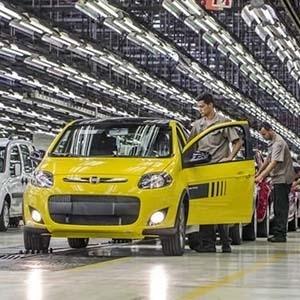 Linha de montagem da Fiat em Betim (MG) - Divulgação