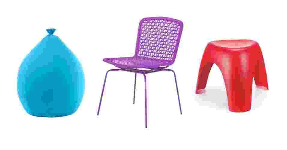 montagem para destacar álbum de Gravidez e Filhos com móveis com design de UOL Gravidez e Filhos - Montagem/Fotos Divulgação