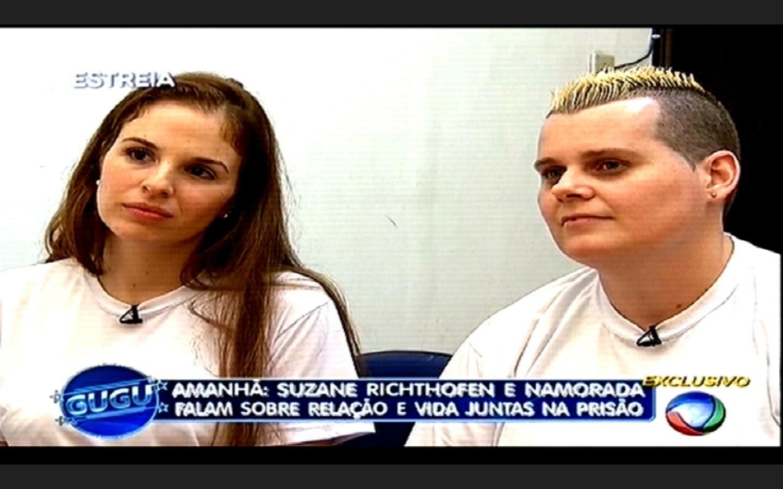 25.fev.2015 - Gugu Liberato entrevista, pela primeira vez, Sandra Gomes, também conhecida como