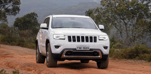 Jeep Grand Cherokee 2014-15 é modelo afetado que pode ter sido importado ao Brasil - Murilo Góes/UOL