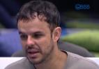"""""""Está um anjo, mas tem um lado agressivo"""", diz Adrilles sobre Rafael - Reprodução/TV Globo"""